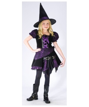 Punk Witch Kids Costume