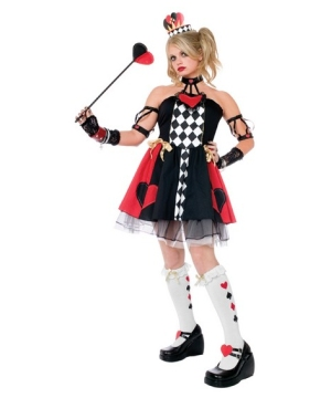 Queen of Hearts Teen Girl Costume