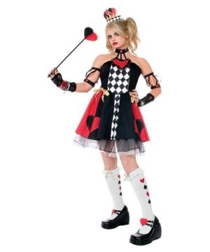 Queen Hearts Girl Costume