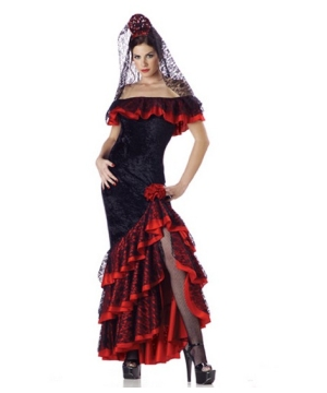 Senorita Spanish Costume