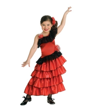 Spanish Princess Girls Costume