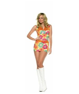 Womens Daisy Hippie Costume