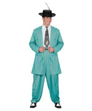 Zoot Suit Turquoise Costume