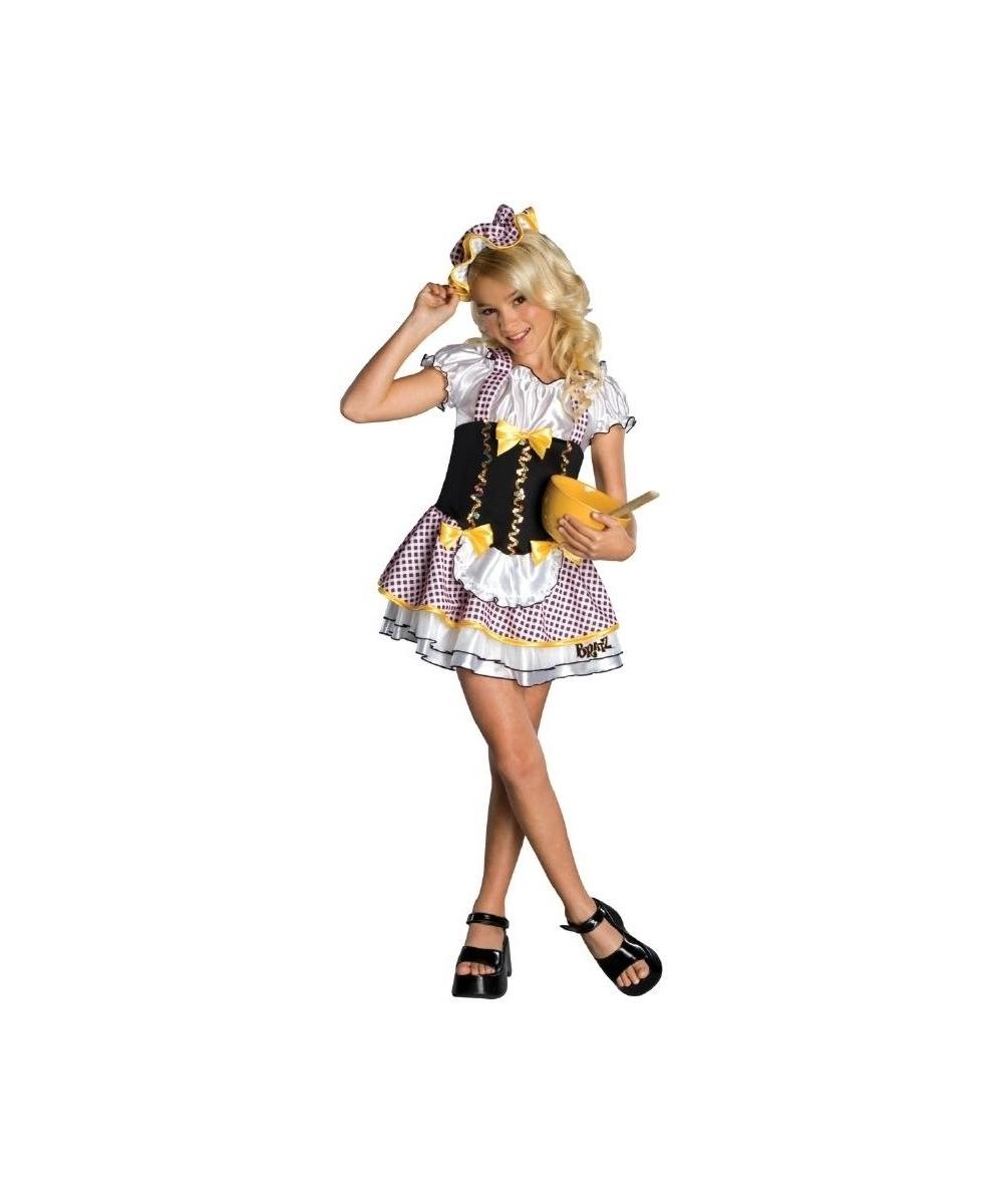 Kids Bratty Goldilocks Movie Costume Girls Costume