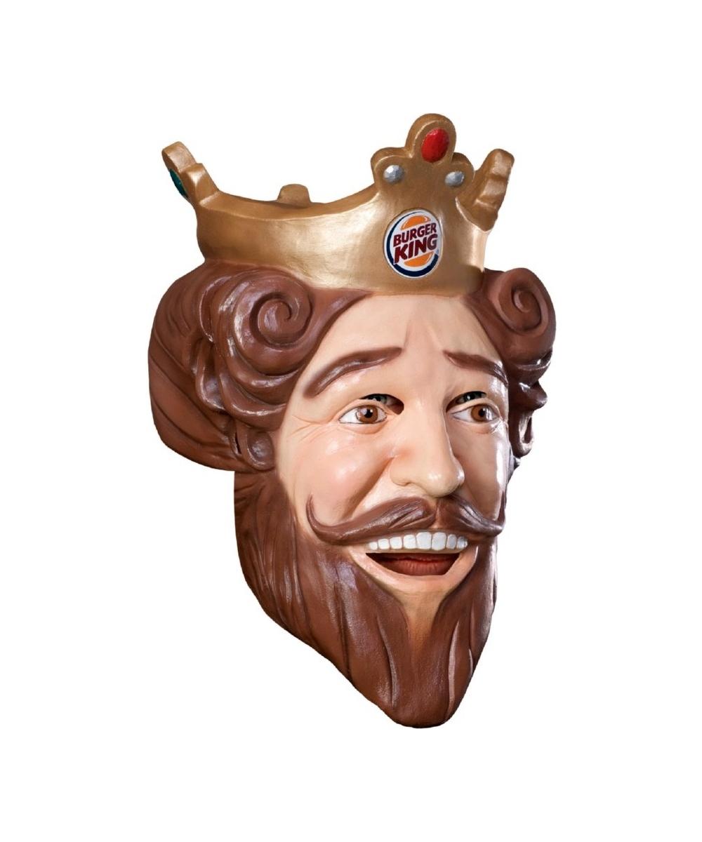 adult burger king king mask