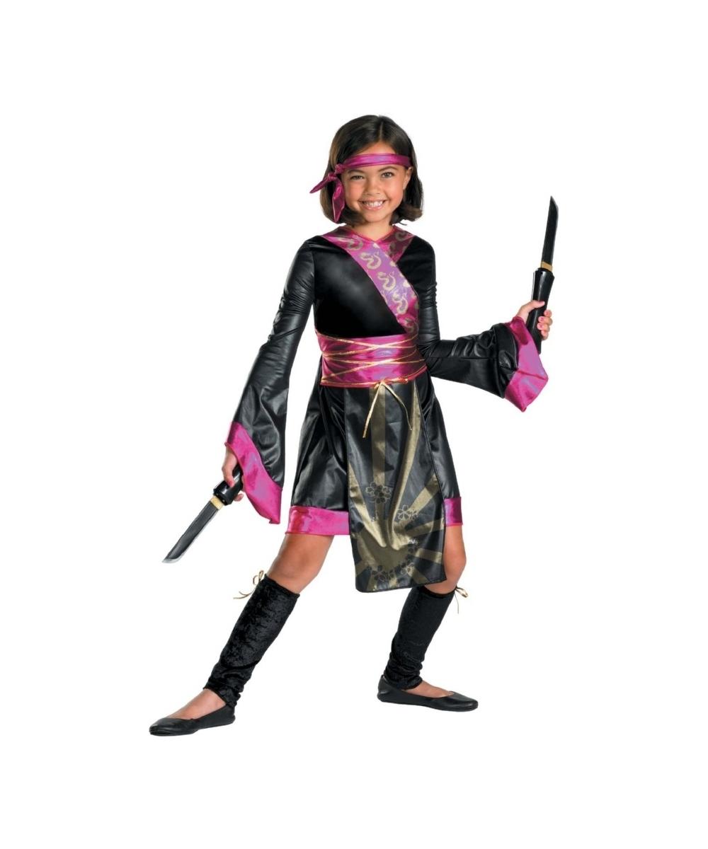 dragon ninja kids costume   girl halloween costumes