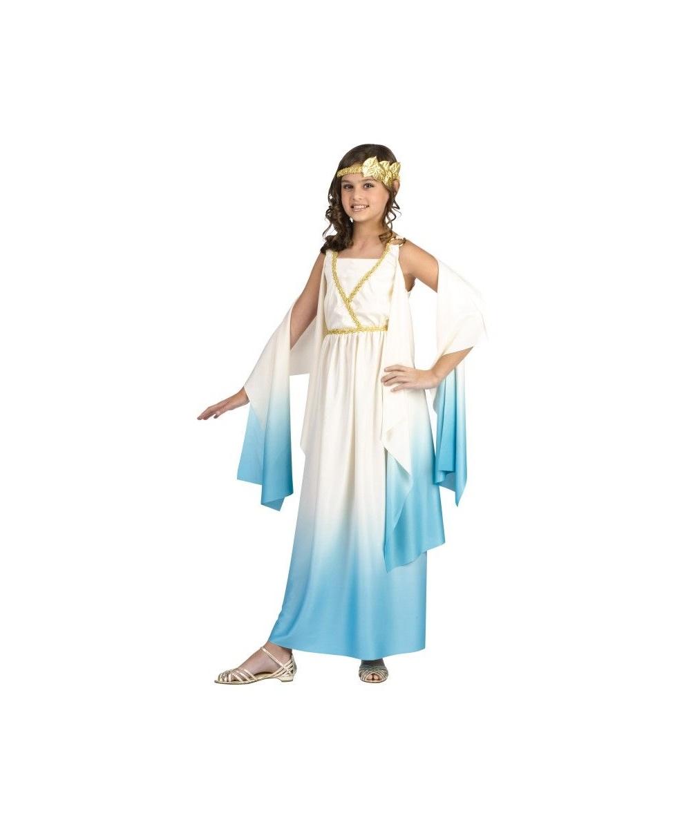 Kids Greek Goddess Halloween Costume - Greek Costumes