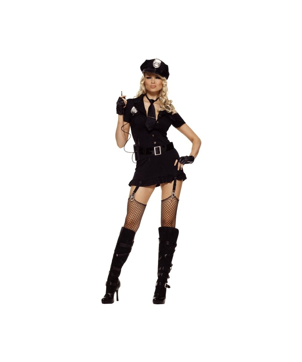 Sexy Dirty Cop Womens Costume