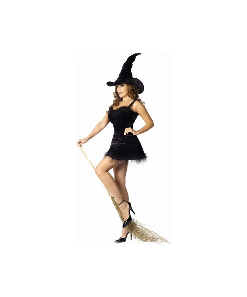 Elegant Witch Kids Halloween Costume - Girls Costumes