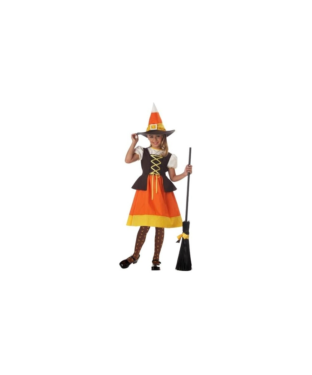 Sweet Candy Witch Kids Halloween Costume Girls Witch