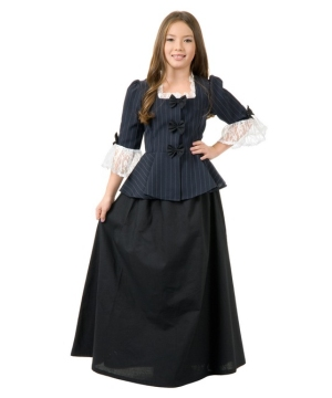 Black Colonial Girls Costume