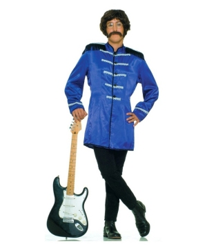 Blue British Mens Costume