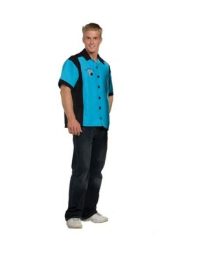 Bowling Shirt Men Costume