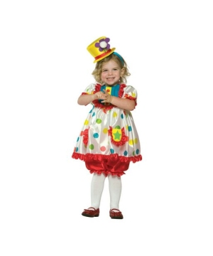 Clown Toddler Costume
