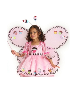 Cupcake Fairy Wings Child