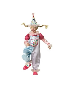 Cutie Clown Kids Costume