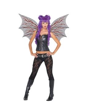Demon Wings Veins Halloween