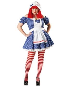 Doll plus size Costume