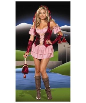 Pleasure Faire Wench plus size Women Costume