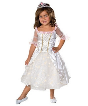 Fiber Optic Fairytale Princess Kids Costume