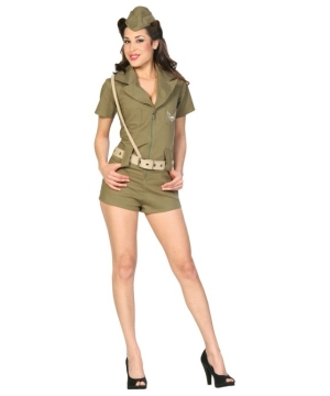 First Line Defense Women Costume