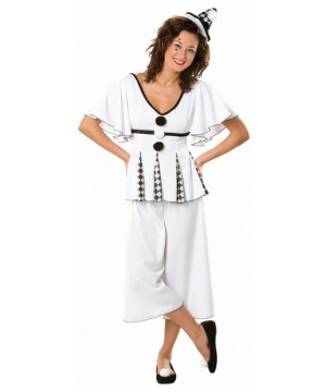 Gigi Pierrot Women Costume
