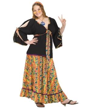 Groovy Mamma plus size Costume