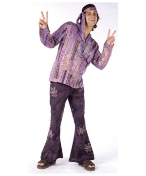 Haight Hippie Men Costume