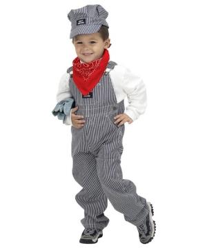 Jr Train Engineer Costume