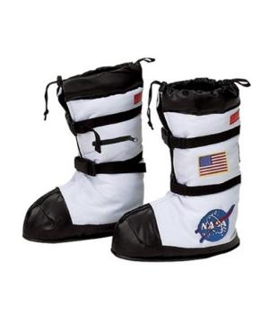 Kids Astronaut Boots Costume