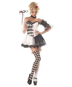 Le Belle Harlequin Women Costume