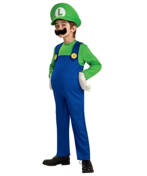 Luigi Boys Costume