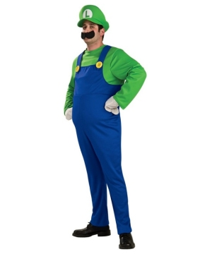 Luigi Adult Costume deluxe