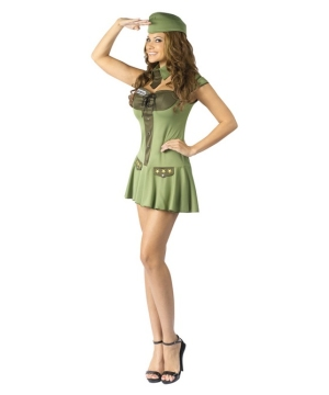 Major Trouble Women's Costume