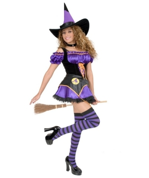 Midnight Witch Women Costume