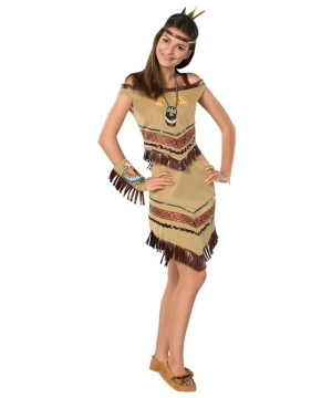Native Princess Indian Costume