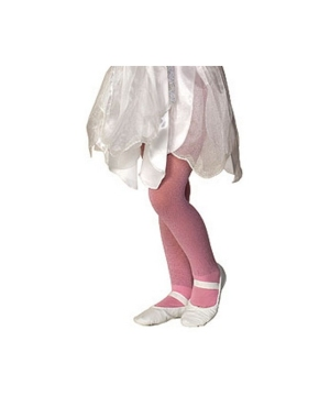 Pink Sparkle Kids Tights