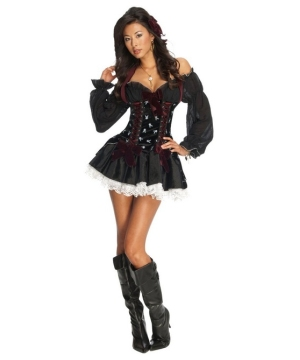 Playful Pin up Witch Women Costume