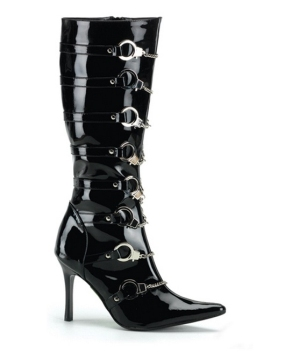 Police Boots Woman
