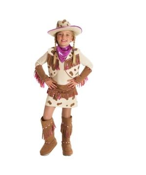 Rhinestone Cowgirl Kids Costume