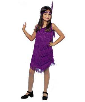 Sassy Flapper Kids Costume