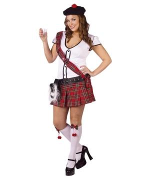 Scottie Women plus size Costume