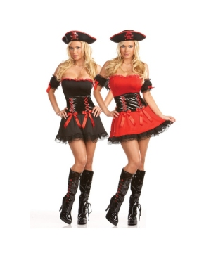 Sea Pirate Adult Costume (reversible)