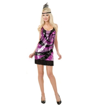 Sequin Flapper Womens Costume