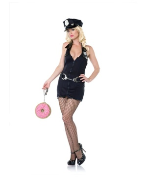 Sexy Police Officer Women Costume