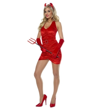 Velvet Devil Women Costume