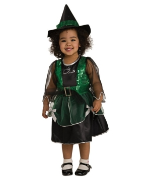 Wizard of Oz Wicked Witch Kids Costume