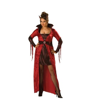 Womens Devil plus size Costume