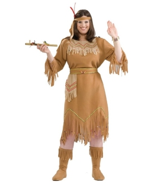 Tiger Lily Women's Indian Costume plus size