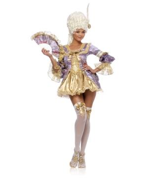 Womens Marie Antoinette Costume